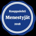 Menestyjät 2018